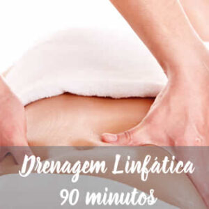 Massagem Dreno Linfático 90 minutos