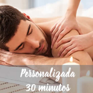 Massagem Personalizada 30 minutos